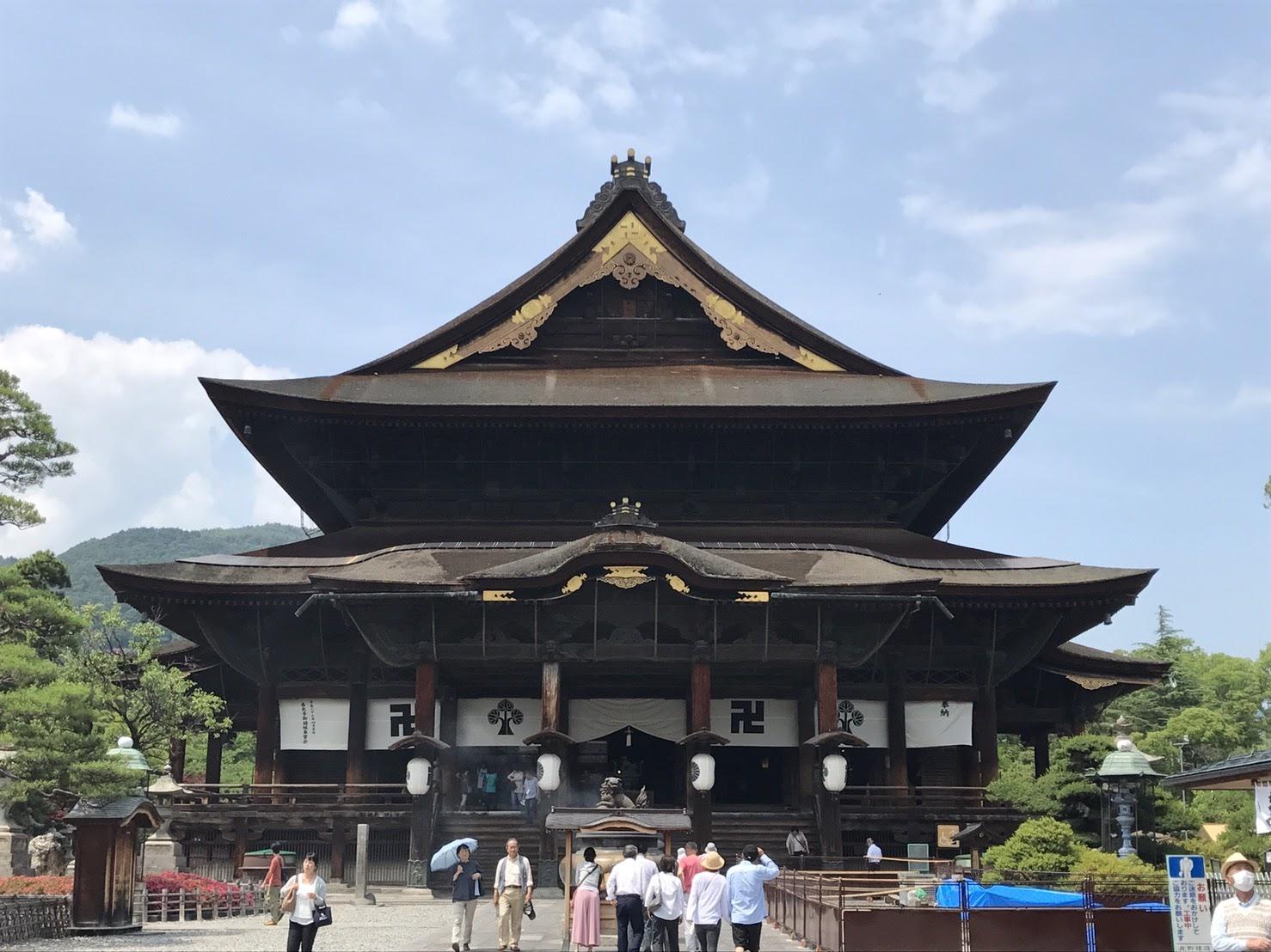 長野市の善光寺