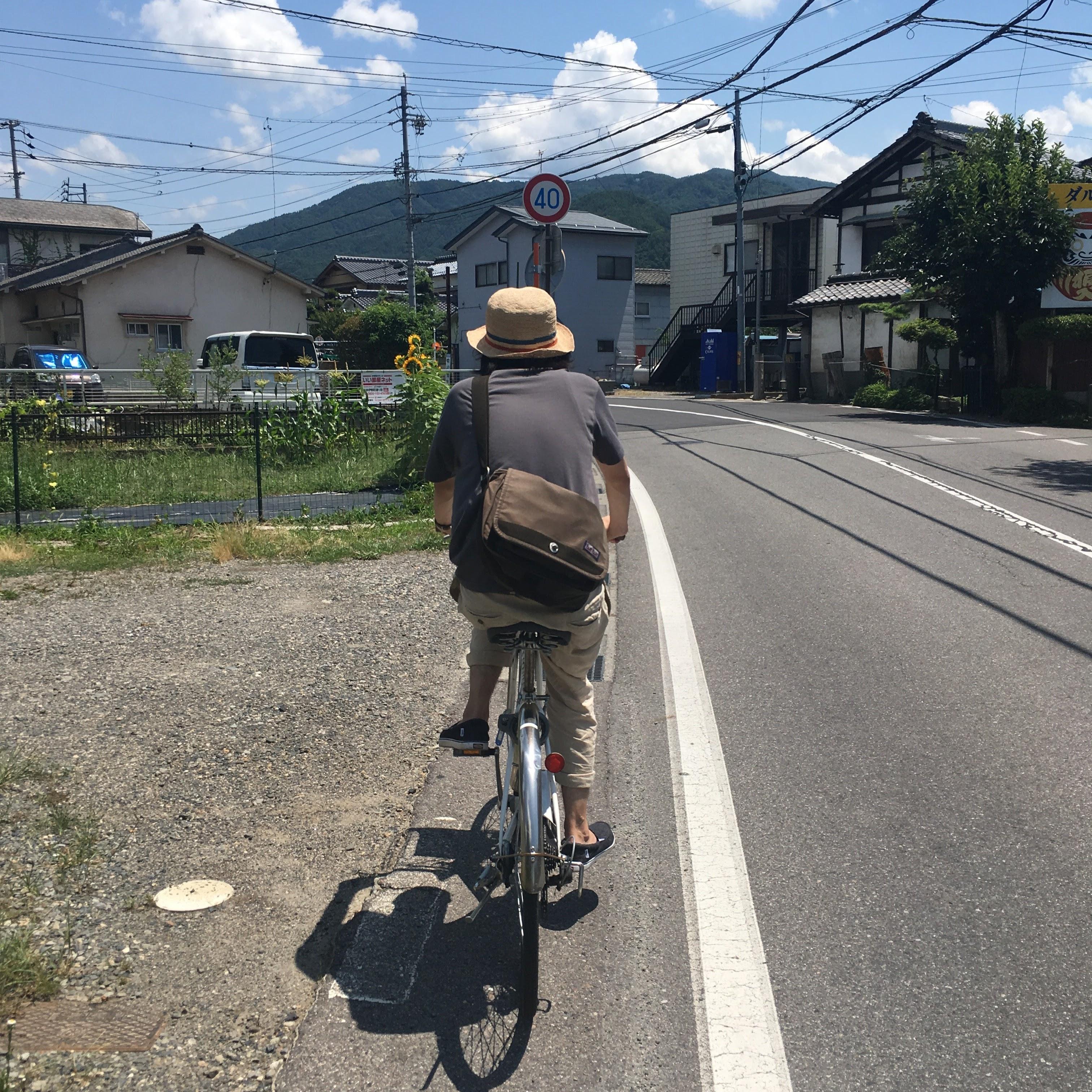 自転車で松本を周遊