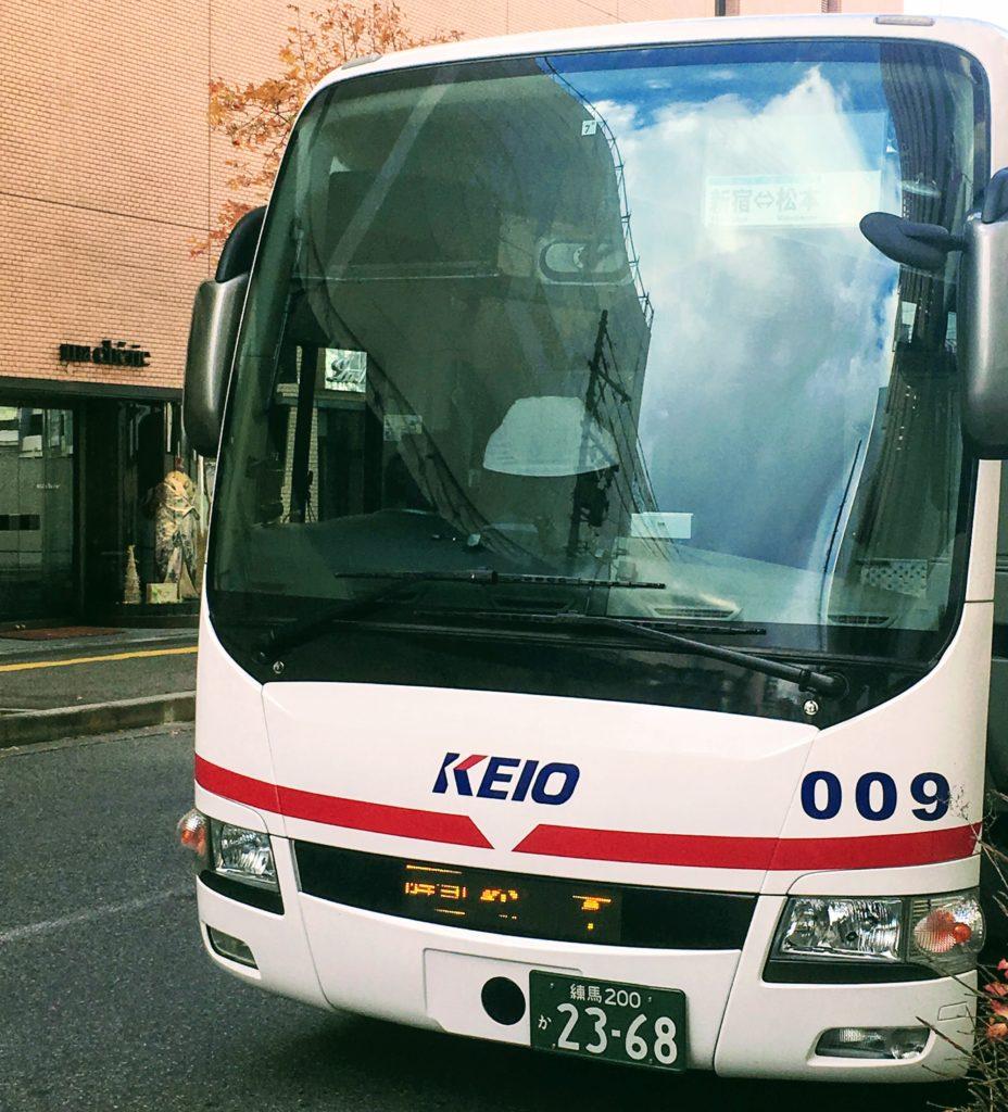 松本新宿の高速、京王バス