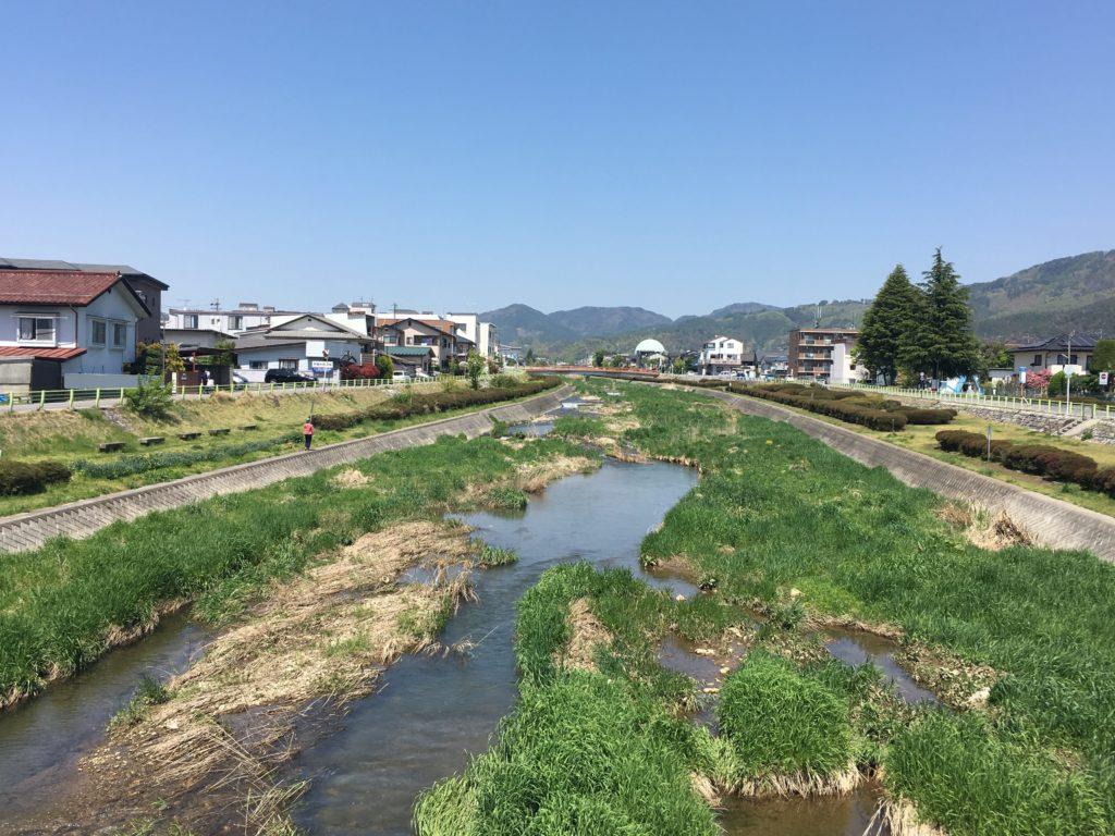 松本の田川