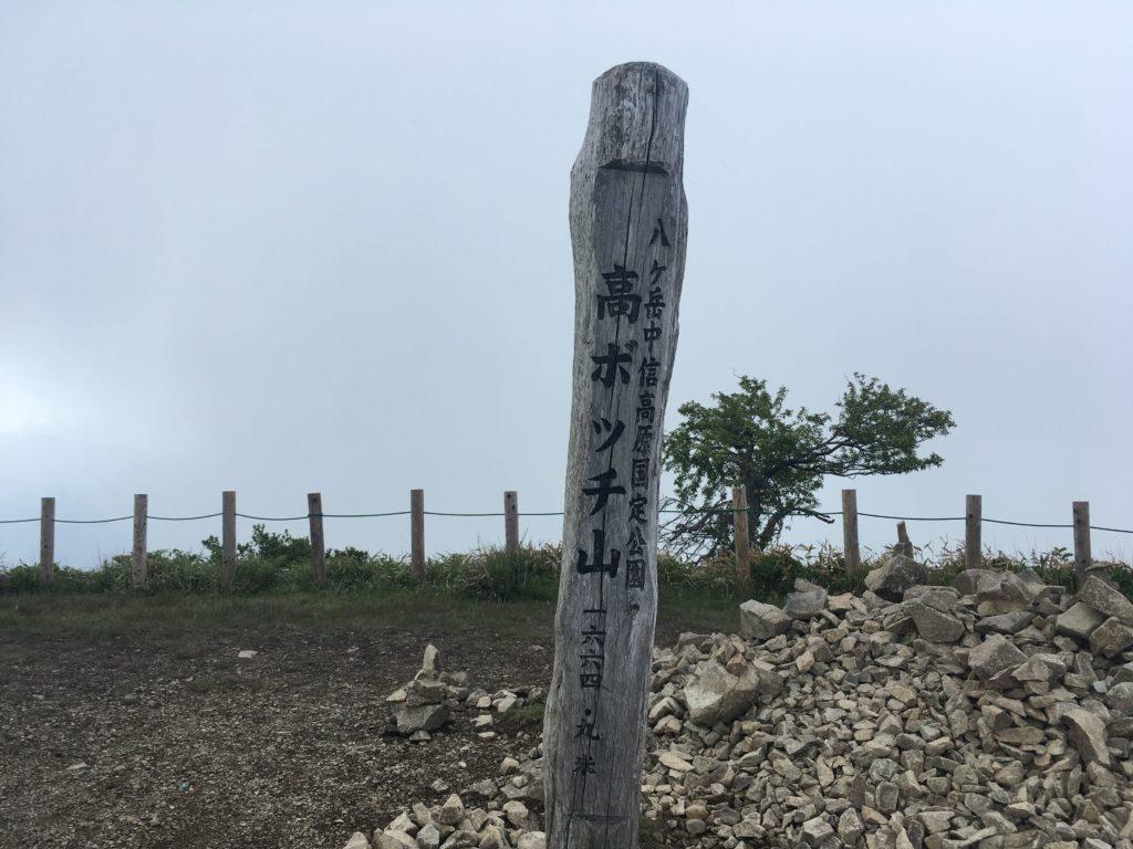 高ボッチ山頂