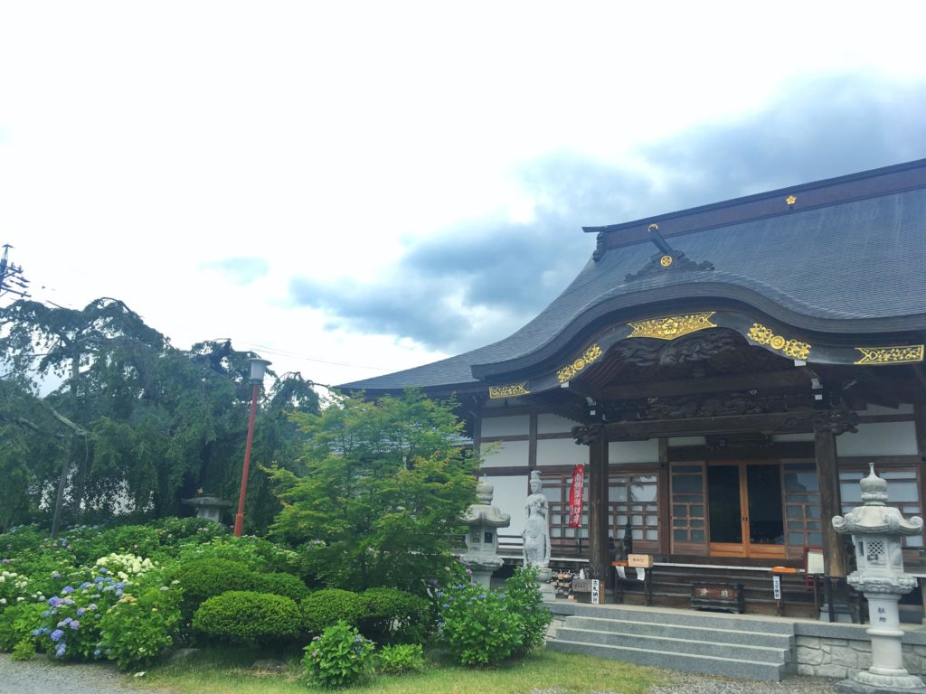 松本法船寺の本堂