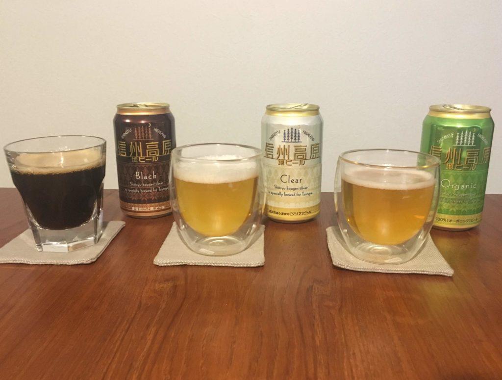 ツルヤのビール飲み比べ