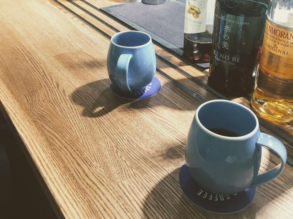 2つのコーヒーから選ぶ