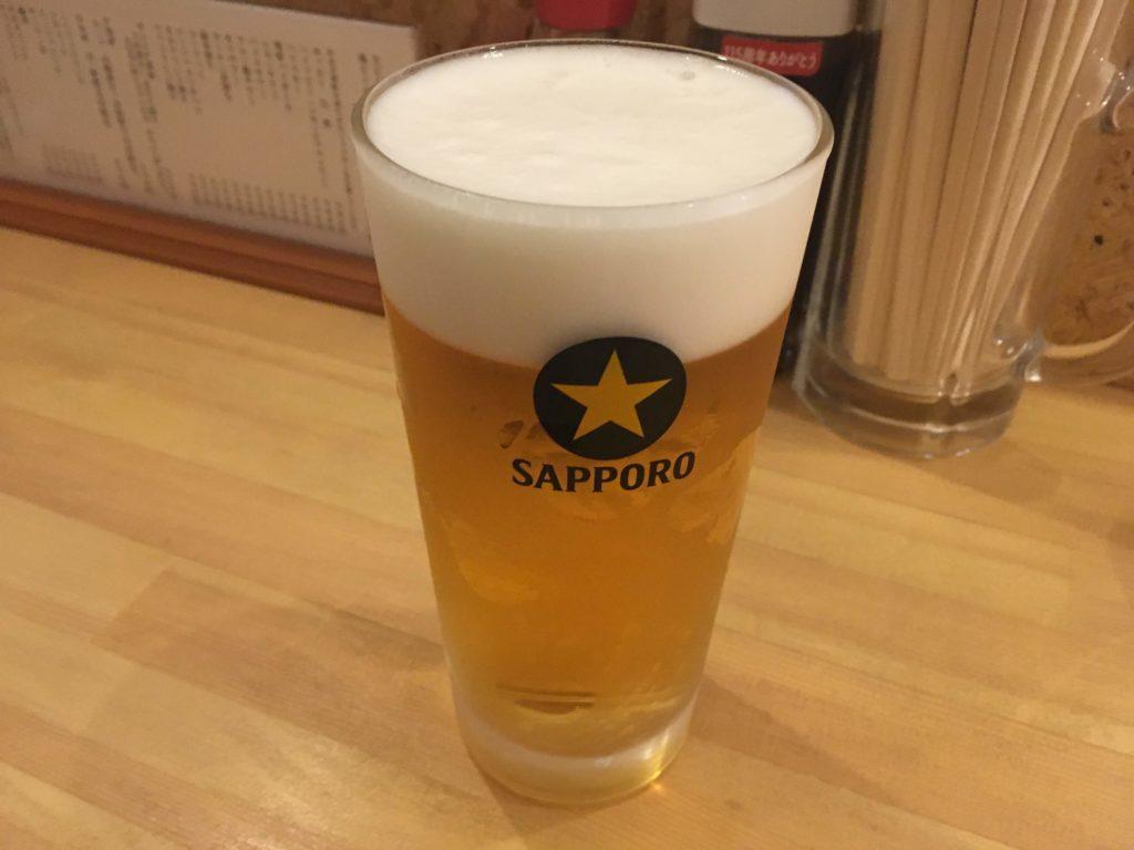 加賀家の生ビール