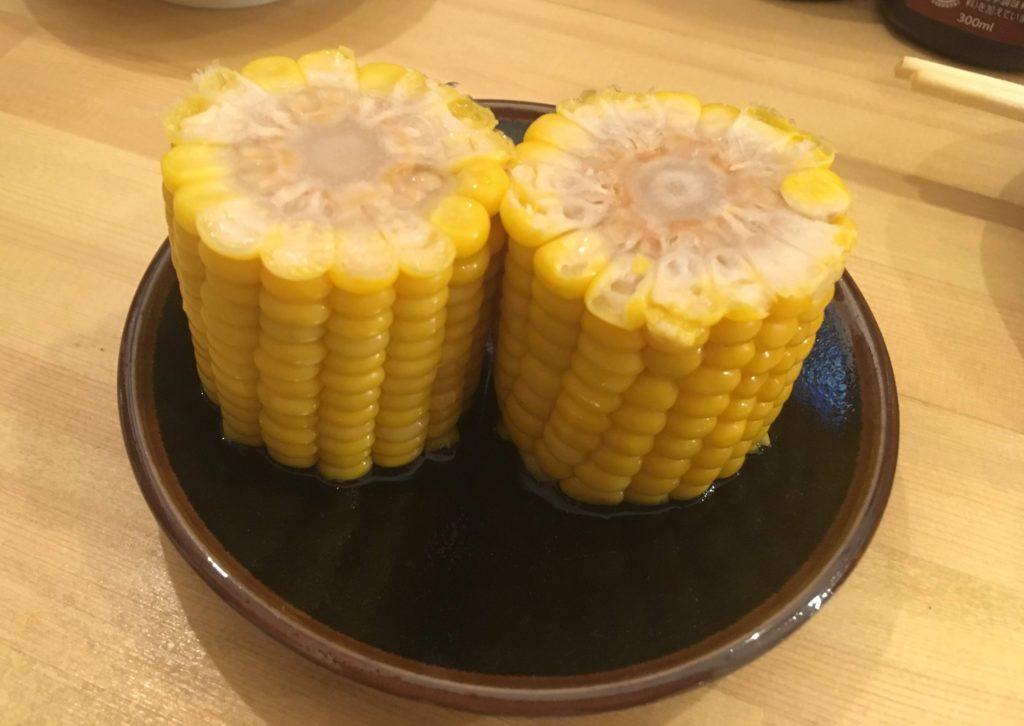 加賀家トウモロコシのお漬物