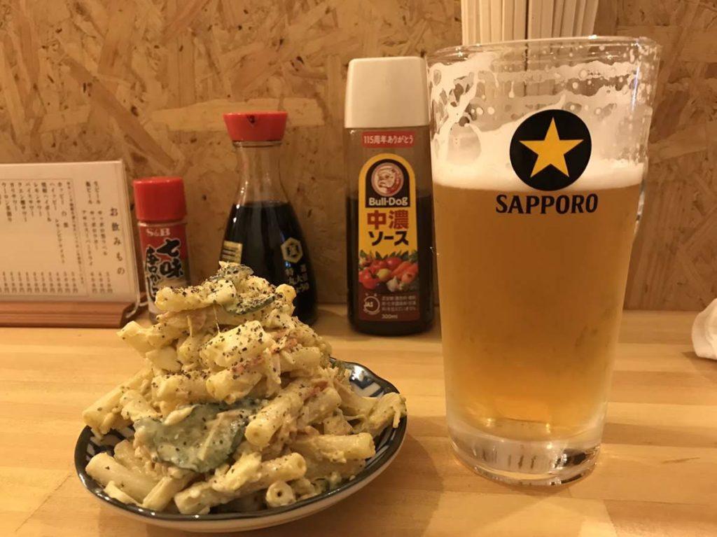 松本の加賀家のマカロニサラダ