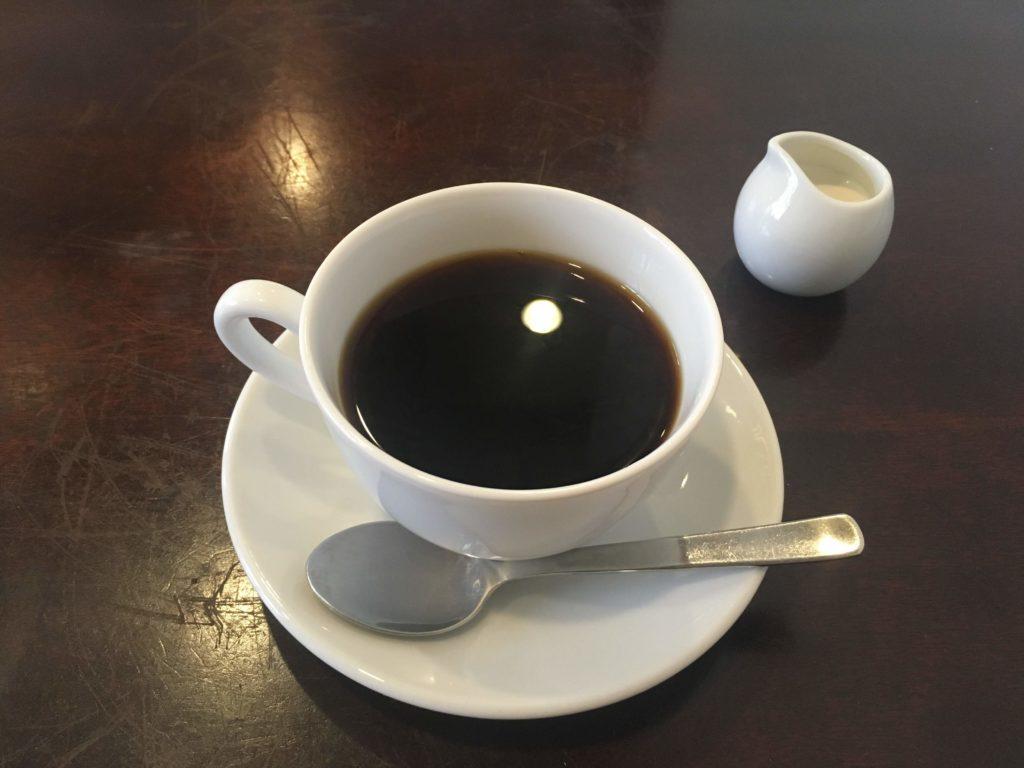 八十六温館のコーヒー