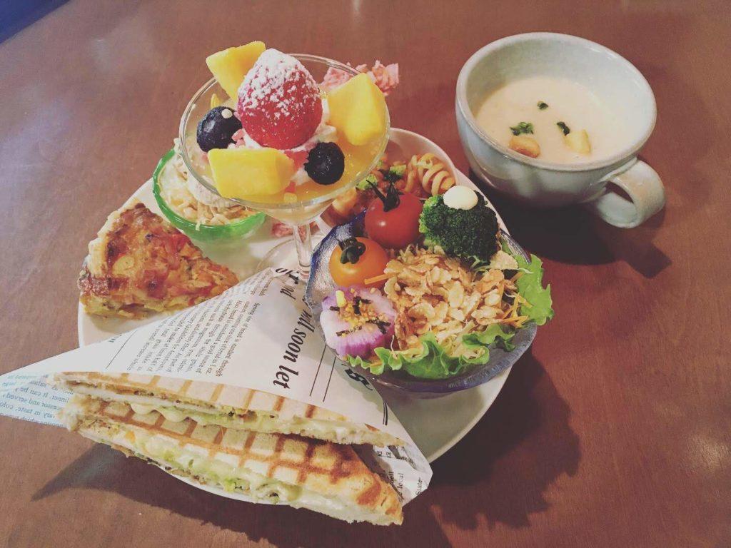 陽氣茶房 cafe joyousのランチプレート