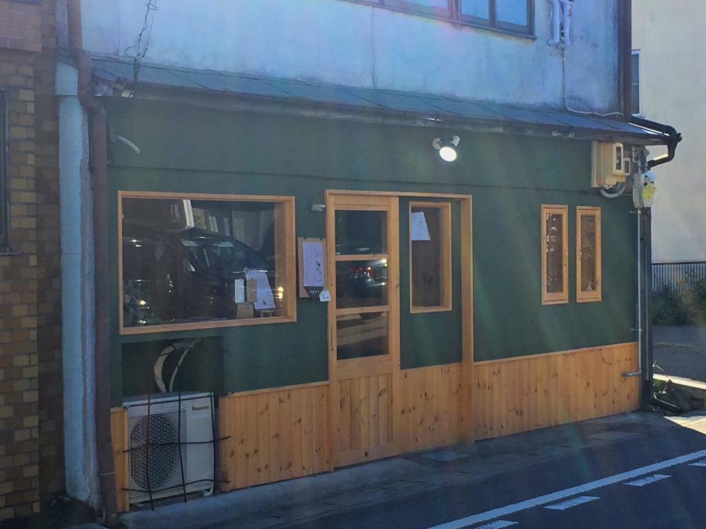 CAFE YUKI.RIの外観