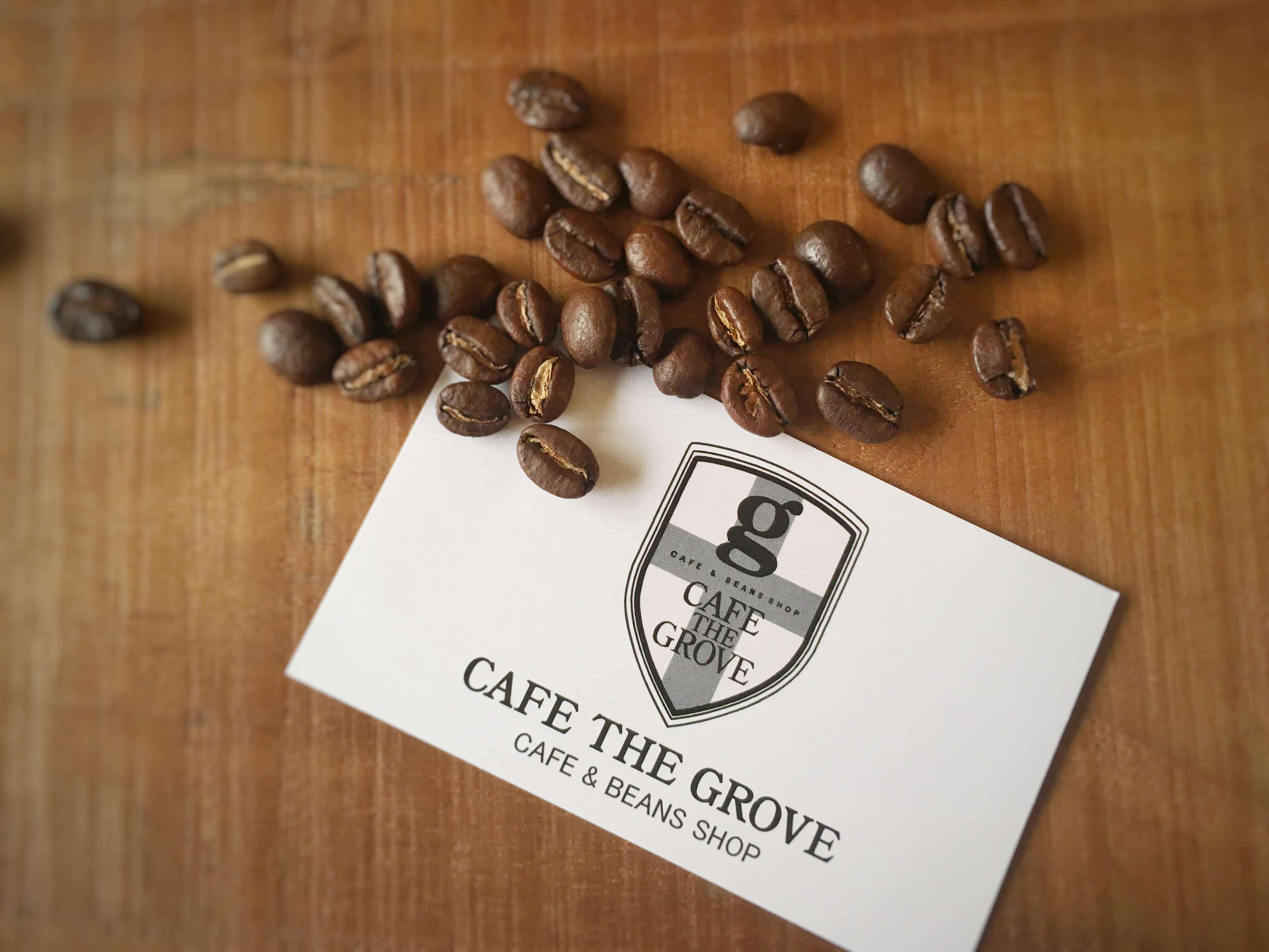 CAFE THE GROVE ショップカード