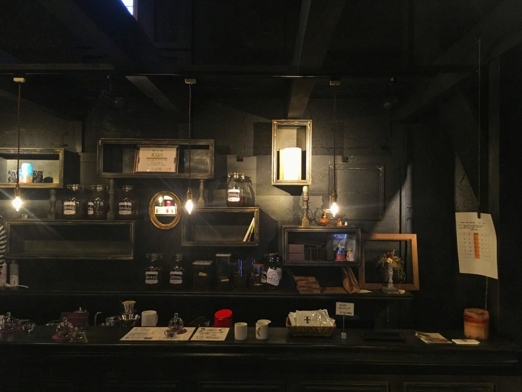 cafe the grove beans shopの内観