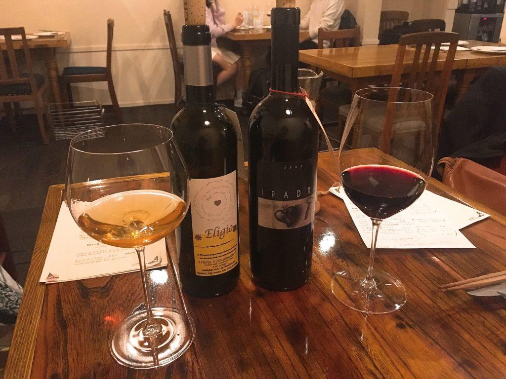 ビエーニビエーニの赤・白ワイン