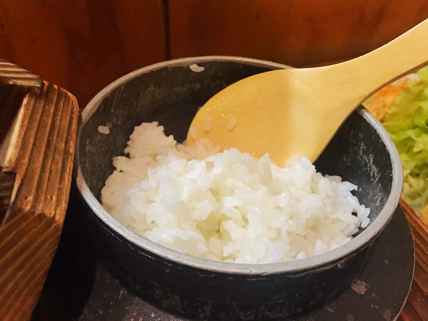 穂の香の釜炊きご飯