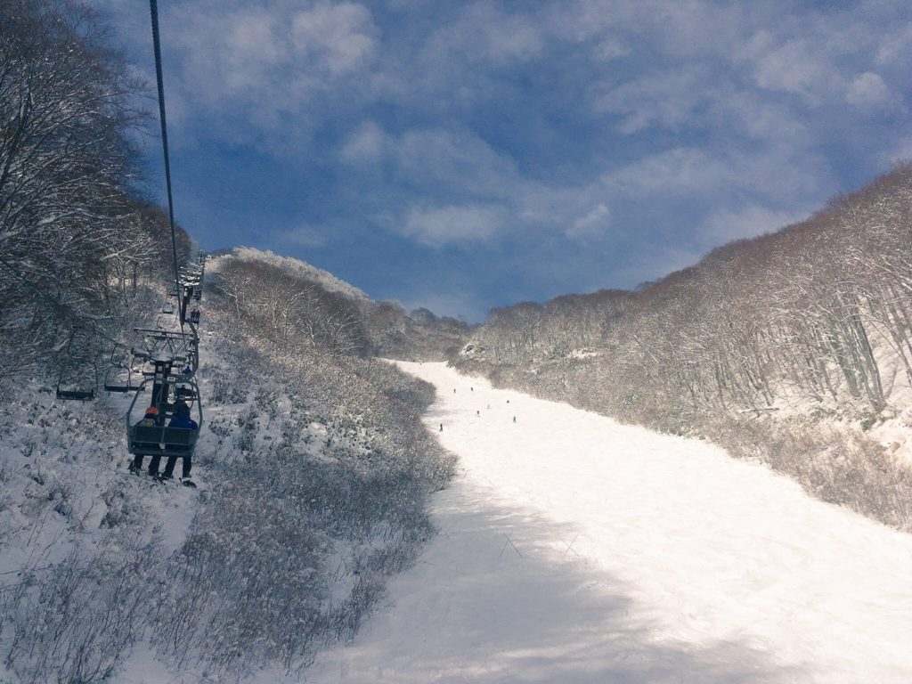 リフトとスキー場