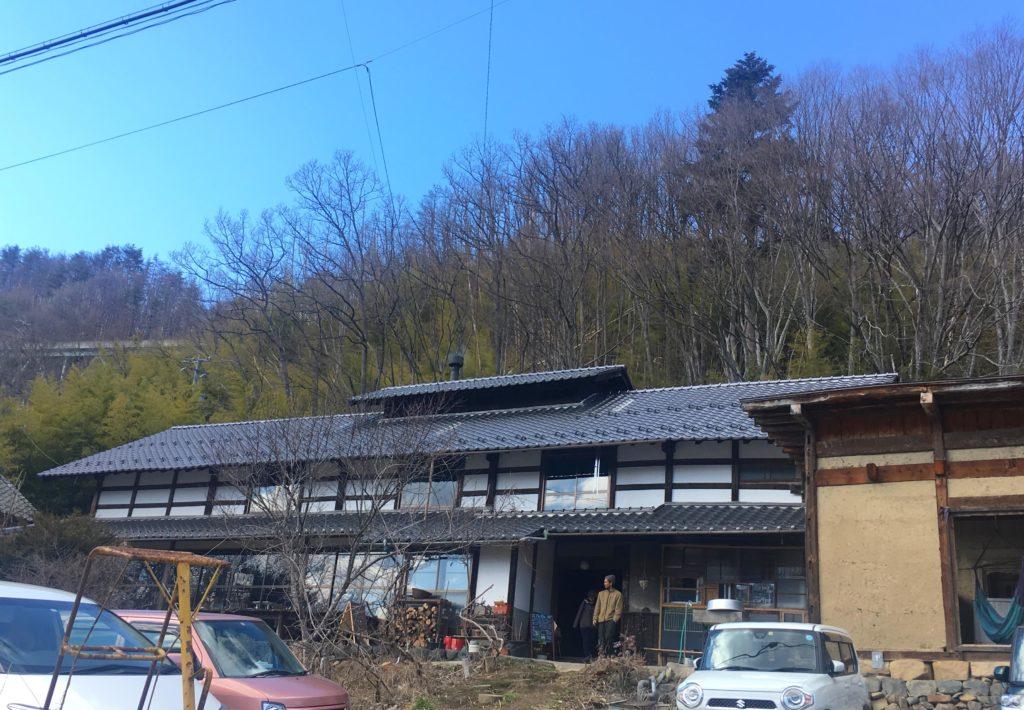 松本旧四賀村KAJIYAの外観