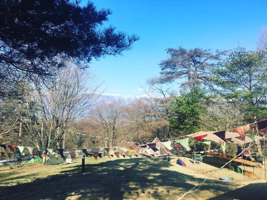 松本市のキャンプ場