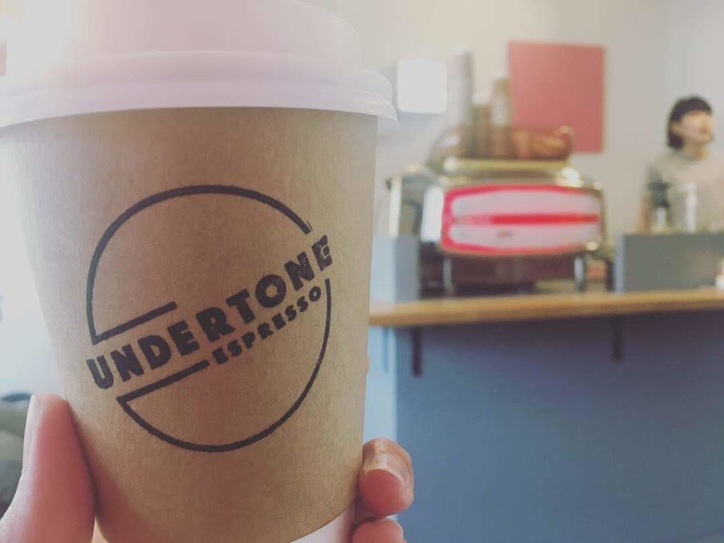 UNDERTONE ESPRESSOのコーヒー